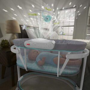 Fisher Price Soothing Motions Bassinet 2